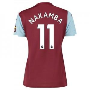 Aston Villa Home Shirt 2019-20 - Womens with Nakamba 11 printing