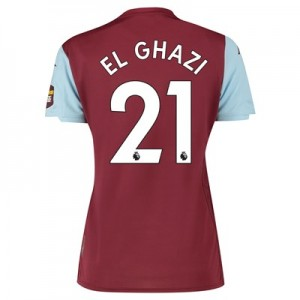 Aston Villa Home Shirt 2019-20 – Womens with El Ghazi 21 printing