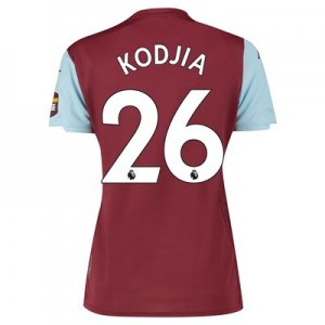 Aston Villa Home Shirt 2019-20 – Womens with Kodjia 26 printing