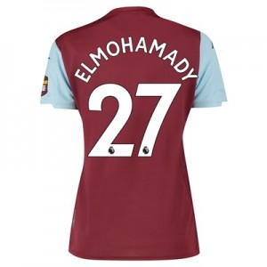 Aston Villa Home Shirt 2019-20 – Womens with Elmohamady 27 printing