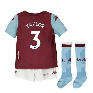 Aston Villa Home Minikit 2019-20 with Taylor 3 printing