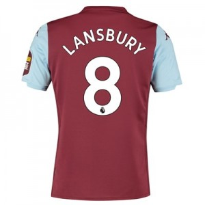 Aston Villa Home Shirt 2019-20 with Lansbury 8 printing