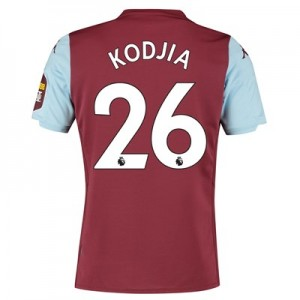 Aston Villa Home Shirt 2019-20 with Kodjia 26 printing