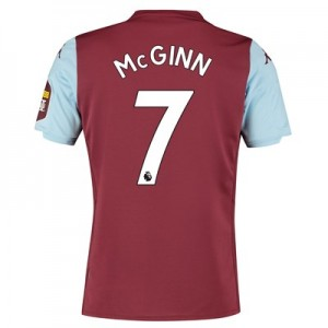 Aston Villa Home Shirt 2019-20 with McGinn 7 printing