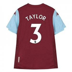 Aston Villa Home Shirt 2019-20 - Kids with Taylor 3 printing
