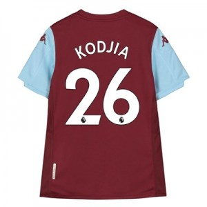 Aston Villa Home Shirt 2019-20 - Kids with Kodjia 26 printing