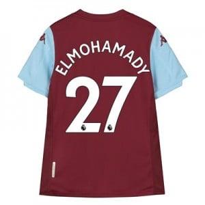 Aston Villa Home Shirt 2019-20 – Kids with Elmohamady 27 printing