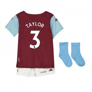 Aston Villa Home Babykit 2019-20 with Taylor 3 printing