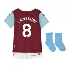 Aston Villa Home Babykit 2019-20 with Lansbury 8 printing