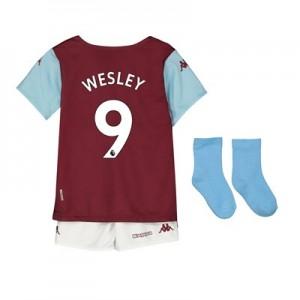 Aston Villa Home Babykit 2019-20 with Wesley 9 printing