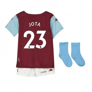 Aston Villa Home Babykit 2019-20 with Jota 23 printing