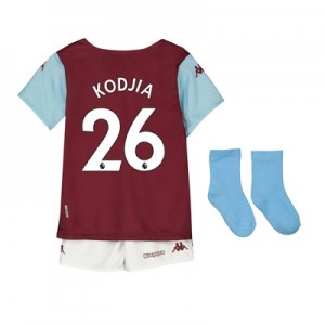 Aston Villa Home Babykit 2019-20 with Kodjia 26 printing