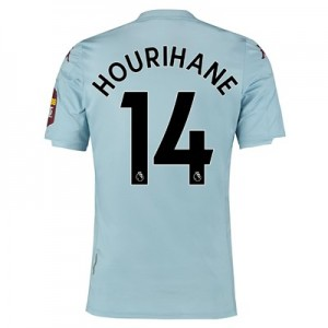 Aston Villa Away Elite Fit Shirt 2019-20 with Hourihane 14 printing