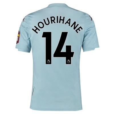 Aston Villa Away Elite Fit Shirt 2019-20 with Hourihane 14 printing