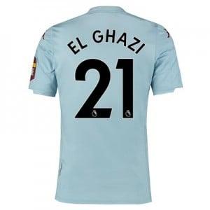Aston Villa Away Elite Fit Shirt 2019-20 with El Ghazi 21 printing