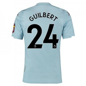 Aston Villa Away Elite Fit Shirt 2019-20 with Guilbert 24 printing