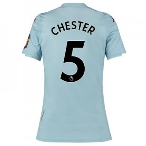 Aston Villa Away Shirt 2019-20 – Womens with Chester 5 printing