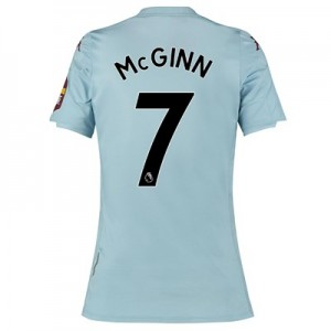 Aston Villa Away Shirt 2019-20 - Womens with McGinn 7 printing