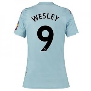 Aston Villa Away Shirt 2019-20 – Womens with Wesley 9 printing