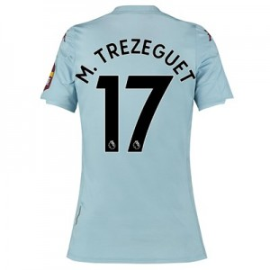 Aston Villa Away Shirt 2019-20 - Womens with M. Trezeguet 17 printing