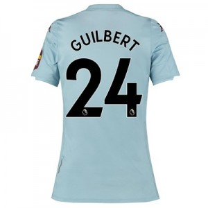 Aston Villa Away Shirt 2019-20 - Womens with Guilbert 24 printing