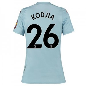 Aston Villa Away Shirt 2019-20 - Womens with Kodjia 26 printing