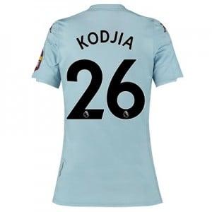 Aston Villa Away Shirt 2019-20 – Womens with Kodjia 26 printing