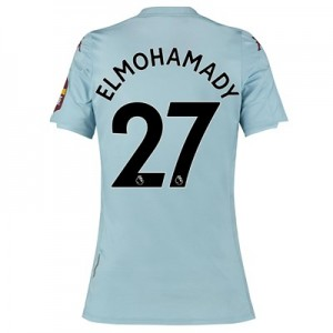 Aston Villa Away Shirt 2019-20 – Womens with Elmohamady 27 printing