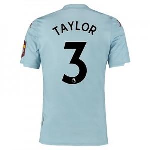 Aston Villa Away Shirt 2019-20 with Taylor 3 printing