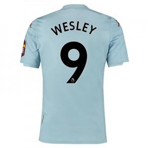 Aston Villa Away Shirt 2019-20 with Wesley 9 printing