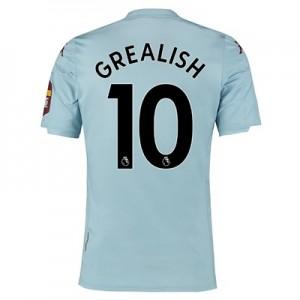 Aston Villa Away Shirt 2019-20 with Grealish 10 printing