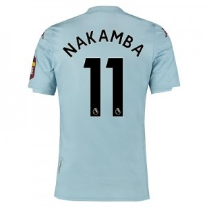 Aston Villa Away Shirt 2019-20 with Nakamba 11 printing