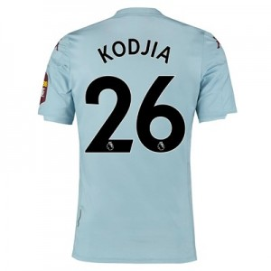 Aston Villa Away Shirt 2019-20 with Kodjia 26 printing