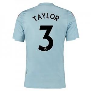 Aston Villa Away Shirt 2019-20 – Kids with Taylor 3 printing