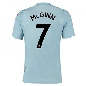 Aston Villa Away Shirt 2019-20 – Kids with McGinn 7 printing