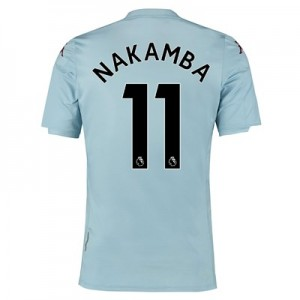 Aston Villa Away Shirt 2019-20 – Kids with Nakamba 11 printing