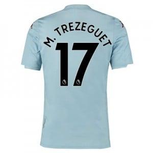 Aston Villa Away Shirt 2019-20 – Kids with M. Trezeguet 17 printing