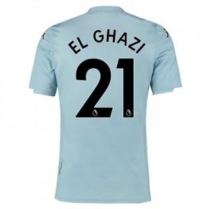 Aston Villa Away Shirt 2019-20 - Kids with El Ghazi 21 printing