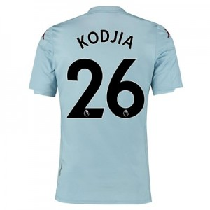 Aston Villa Away Shirt 2019-20 - Kids with Kodjia 26 printing