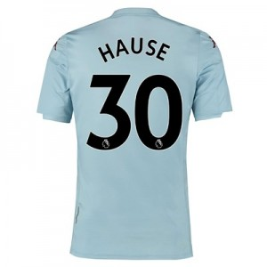 Aston Villa Away Shirt 2019-20 – Kids with Hause 30 printing