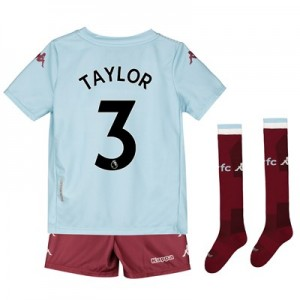 Aston Villa Away Minikit 2019-20 with Taylor 3 printing