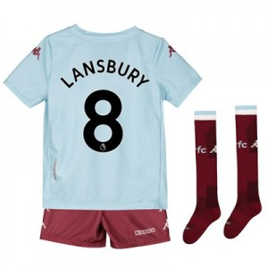 Aston Villa Away Minikit 2019-20 with Lansbury 8 printing