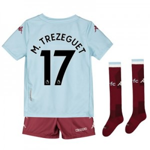 Aston Villa Away Minikit 2019-20 with M. Trezeguet 17 printing