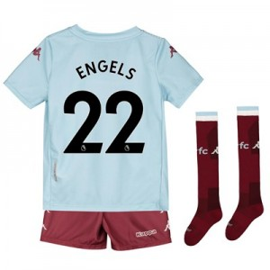 Aston Villa Away Minikit 2019-20 with Engels 22 printing