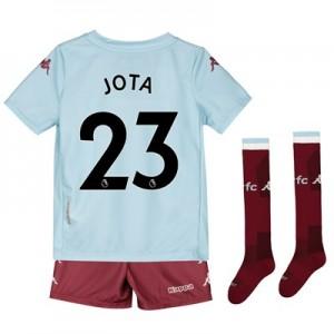 Aston Villa Away Minikit 2019-20 with Jota 23 printing