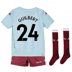 Aston Villa Away Minikit 2019-20 with Guilbert 24 printing