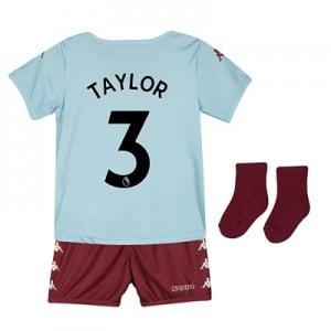 Aston Villa Away Babykit 2019-20 with Taylor 3 printing