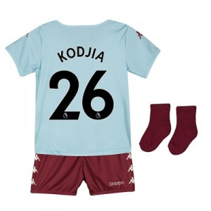 Aston Villa Away Babykit 2019-20 with Kodjia 26 printing