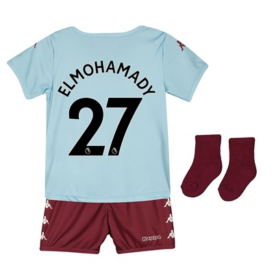 Aston Villa Away Babykit 2019-20 with Elmohamady 27 printing