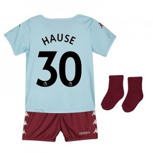 Aston Villa Away Babykit 2019-20 with Hause 30 printing